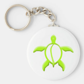 lime turtle keychain