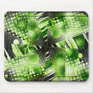Lime Twist Mouse Pad