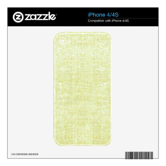 Lime,Vintage, lace, burlap, grunge, victorian iPhone 4S Decal