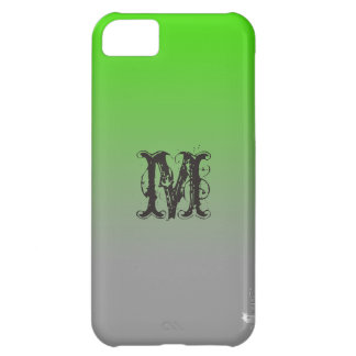 Lime Vista Ombre Shaded iphone 5C Case