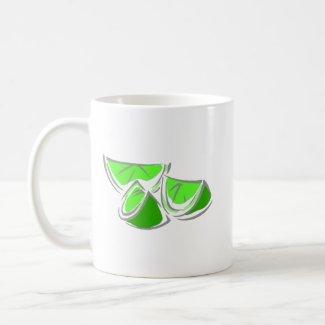 Lime Wedges mug