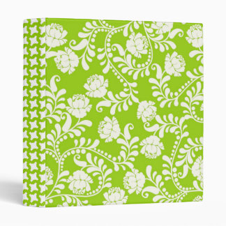 Lime & White Floral USE YOUR WAY! Avery Binder