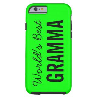 Lime World's Best Gramma Custom iPhone 6 Case