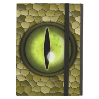 Lime Yellow Green Snake Eye Powis iPad Air Case