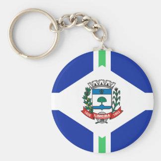 Limeira Saopaulo Brasil, Brazil flag Keychains