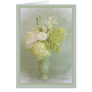 Limelight Bouquet Card