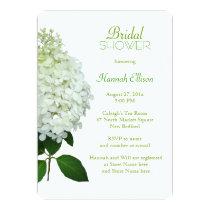 Limelight Hydrangea Bridal / Wedding Shower Invitation
