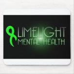 Limelight Mental Health Mousepad Black
