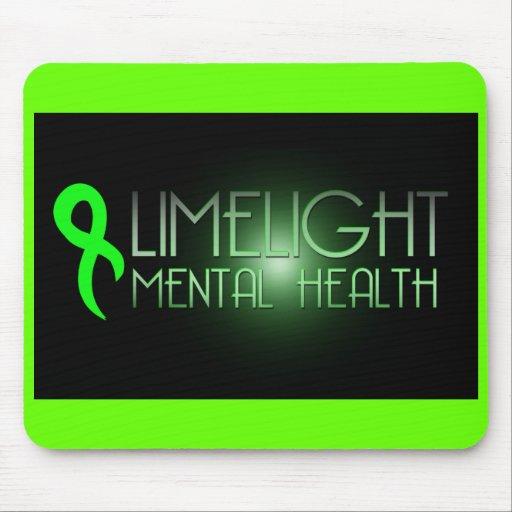 Limelight Mental Health Mousepad LIME