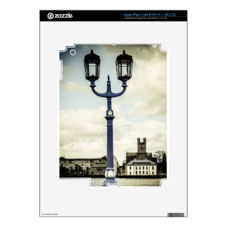 Limerick bridge lamps decal for iPad 3