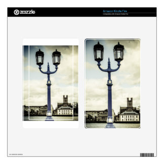 Limerick bridge lamps decal for kindle fire