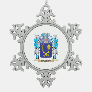 Limerick Coat of Arms - Family Crest Ornaments