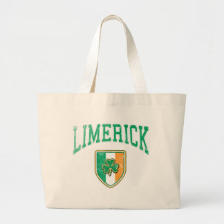 LIMERICK Ireland Large Tote Bag