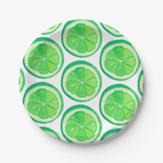 Limes - Paper Plates
