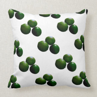 Limes Pillow Green Real Lime Geen and White