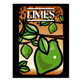 Limes Postcard