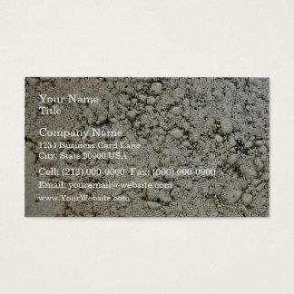 Limestone Concrete Surface Texture Business Card