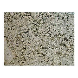 Limestone Concrete Surface Texture Postcard