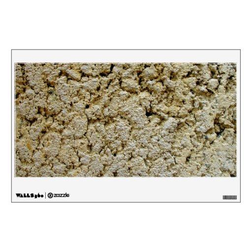 Limestone concrete texture room decals