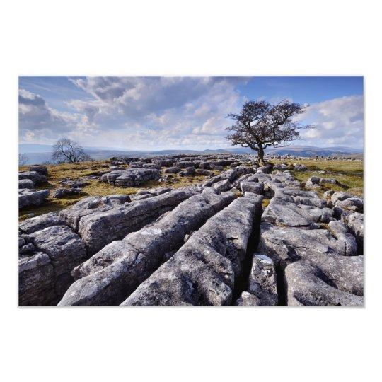 Limestone Country - Ribblesdale print