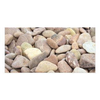 limestone pebbles card