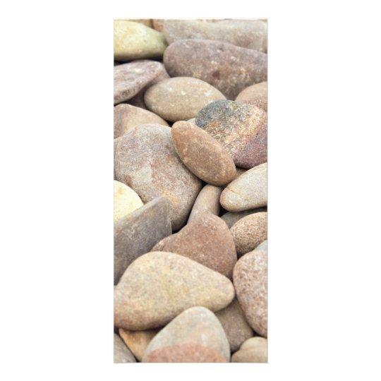 limestone pebbles rack card