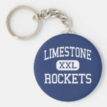 Limestone - Rockets - Community - Bartonville Key Chains