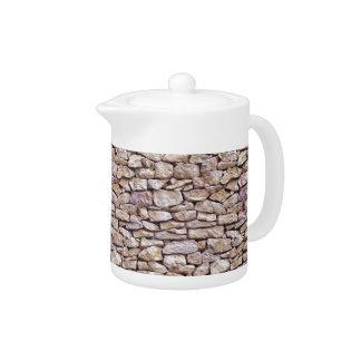 Limestone Teapot
