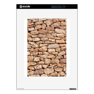 limestone wall decals for the iPad