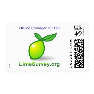 LimeSurvey encuestas sobre en línea (Deutsch) Estampillas