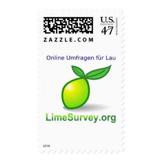 LimeSurvey encuestas sobre en línea (Deutsch) Sello Postal