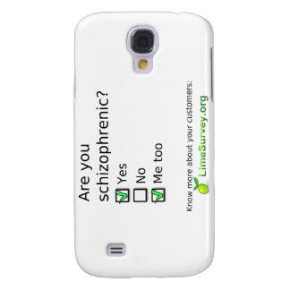 LimeSurvey Schizophrenic Samsung Galaxy S4 Cases