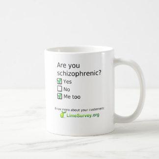 LimeSurvey Schizophrenic Coffee Mug