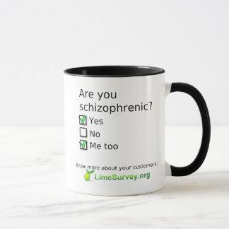 LimeSurvey Schizophrenic Mug