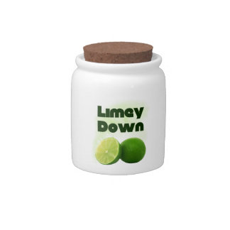 Limey Down Candy Dishes