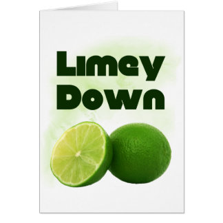 Limey Down Greeting Cards