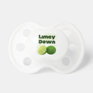 Limey Down Pacifiers