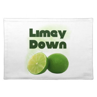 Limey Down Placemats