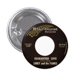 Limey y los tirones - amor garantizado pin redondo 2,5 cm