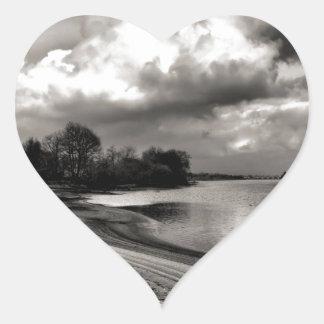 Limia River Heart Sticker