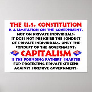 Limitación del gobierno póster