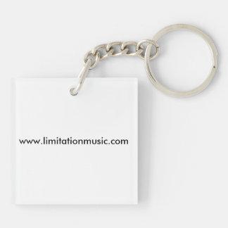 Limitation Music Keychain