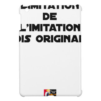 LIMITATION OF THE IMITATION (WOULD BE ORIGINAL!) COVER FOR THE iPad MINI