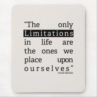 Limitations Mouse Pad