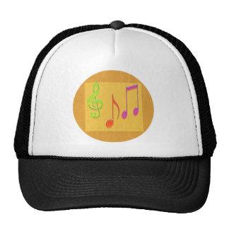 Límite a sonar bueno - símbolos de música de baile gorro