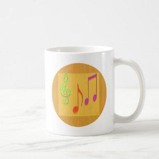 Límite a sonar bueno - símbolos de música de baile taza