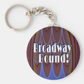 ¡Límite de Broadway! Llavero Personalizado