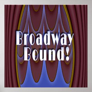 ¡Límite de Broadway! Póster