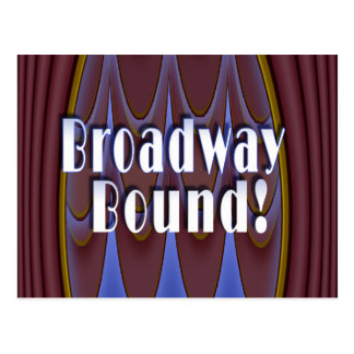 ¡Límite de Broadway! Postal