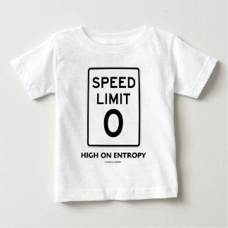 Límite de velocidad cero (0) alto en la entropía camiseta